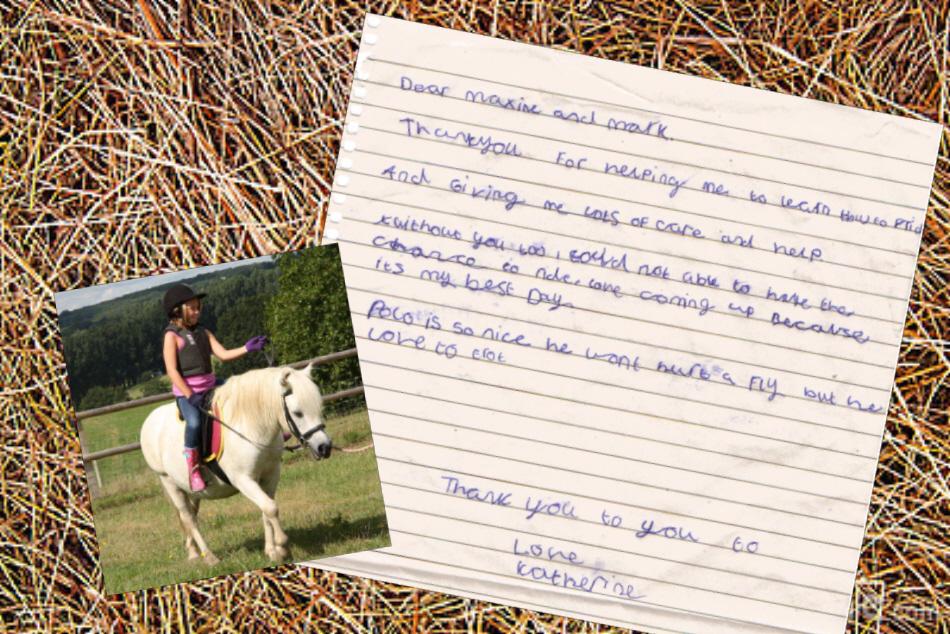 Katherine's letter